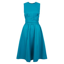 Buy Hobbs Twitchill Dress, Jewel Blue Online at johnlewis.com