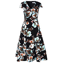 Buy True Decadence Floral Prom Dress, Black Online at johnlewis.com