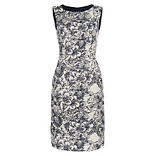 Buy Hobbs Josie Dress, Navy Ivory Online at johnlewis.com