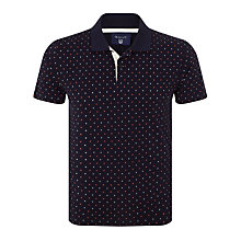 Buy Gant Mini Foulard Polo Shirt, Navy Online at johnlewis.com