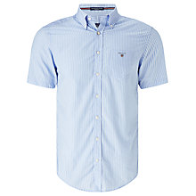 Buy Gant Broadcloth Poplin Short Sleeve Shirt Online at johnlewis.com