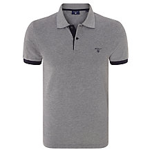 Buy Gant Solid Polo Shirt Online at johnlewis.com