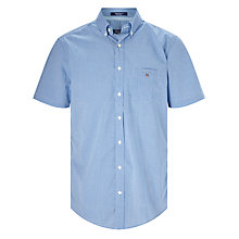 Buy Gant Poplin Tri Colour Gingham Short Sleeve Shirt Online at johnlewis.com