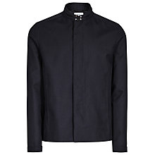 Buy Reiss Finlay Concealed Zip Jacket, Black Online at johnlewis.com