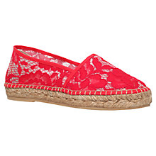 Buy Kurt Geiger Blonda Flat Espadrille Sandals Online at johnlewis.com