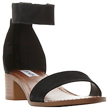 Buy Steve Madden Darcie Block Heeled Sandals Online at johnlewis.com