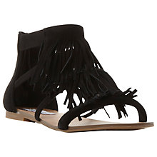 Buy Steve Madden Favorit Fringe Detail Sandals Online at johnlewis.com