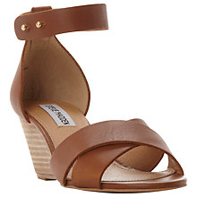Buy Steve Madden Nilla Wedge Sandals Online at johnlewis.com