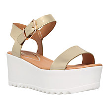 Buy Miss KG Poppy Platform Cleated Sole Wedges Online at johnlewis.com