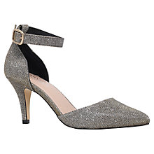 Buy Carvela Kandice Suedette Court Shoes, Bronze Online at johnlewis.com
