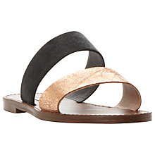 Buy Steve Madden Malta Gladiator Sandals, Bronze Online at johnlewis.com