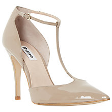 Buy Dune Camie Two Part Stiletto Court Shoes Online at johnlewis.com