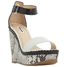 Buy Dune Kandy Wedge Heeled Sandals Online at johnlewis.com
