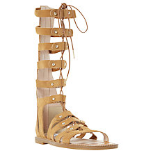 Buy Dune Lahlia Gladiator Calf Sandals Online at johnlewis.com