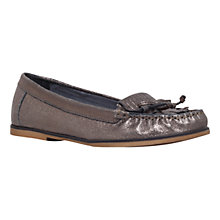 Buy Carvela Mock Bow Detail Moccasins Online at johnlewis.com