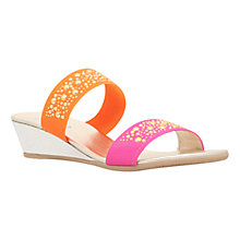 Buy Carvela Comfort Sage Low Heeled Mule Sandals, Multi Online at johnlewis.com