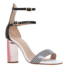 Buy Kurt Geiger Izzy Block Heeled Double Strap Sandals Online at johnlewis.com