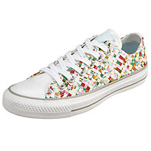 Buy Converse Chuck Taylor All Star Ox Woven Print Trainers, Multi Online at johnlewis.com