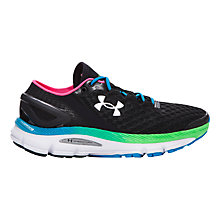 Buy Under Armour Speedform Gemini 2 Women's Running Shoes, Black/Multi Online at johnlewis.com