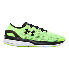 Buy Under Armour Men's Running Shoes, Green Online at johnlewis.com