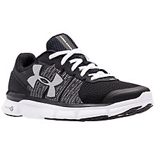 Buy Under Armour Micro Speed Swift Women's Running Shoes, Black Online at johnlewis.com