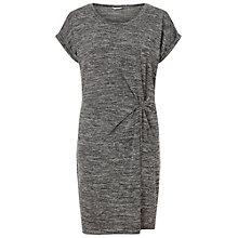 Buy Miss Selfridge Twist T-Shirt Dress, Grey Online at johnlewis.com