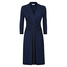 Buy Hobbs Emilie Dress, Navy Online at johnlewis.com