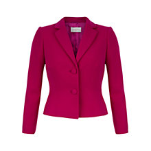 Buy Hobbs Keara Jacket, Orchid Pink Online at johnlewis.com