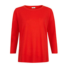 Buy Hobbs Jessica Jumper, Mandarin Orange Online at johnlewis.com