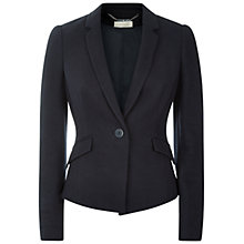 Buy Hobbs Jennifer Jacket, Navy Online at johnlewis.com