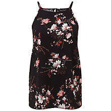 Buy Miss Selfridge Blossom High Neck Cami, Multi Online at johnlewis.com