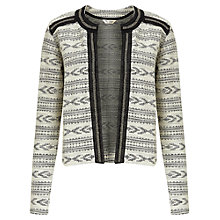 Buy Miss Selfridge Aztec Embellished Jacket, Multi Online at johnlewis.com