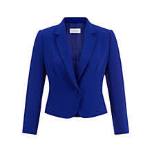 Buy Hobbs Catrin Jacket, Iris Blue Online at johnlewis.com