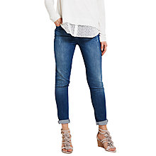 Buy Mint Velvet Everett Skinny Jeans, Blue Online at johnlewis.com