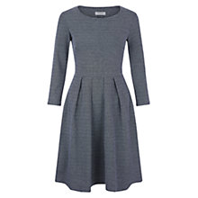 Buy Hobbs Crissy Dress, Navy Ivory Online at johnlewis.com