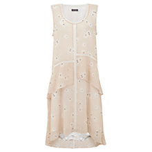 Buy Mint Velvet Simone Print Ruffle Dress, Multi Online at johnlewis.com