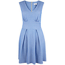 Buy Closet Polka Dot V-Neck Dress Online at johnlewis.com
