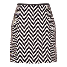 Buy Oasis Diamond Mini Skirt, Multi Online at johnlewis.com