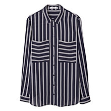 Buy Mango Pocket Striped Shirt Online at johnlewis.com