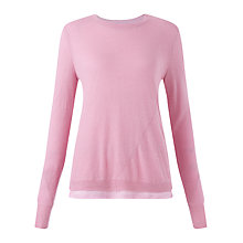 Buy Jigsaw Fine Alpaca Jumper, Peony Online at johnlewis.com