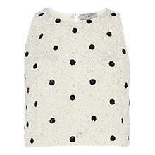Buy Coast Bliss Spot Embellished Top, Multi Online at johnlewis.com