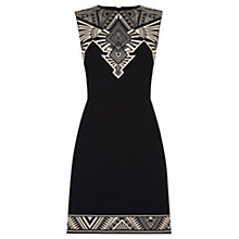 Buy Oasis Tribal Placement Shift Dress, Multi Online at johnlewis.com