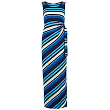 Buy Gina Bacconi Metallic Stripe Jersey Maxi Dress, Multi Online at johnlewis.com