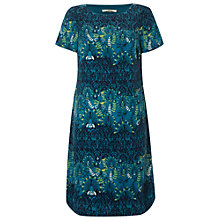 Buy White Stuff Hidden Temple Dress, Nepalese Blue Online at johnlewis.com
