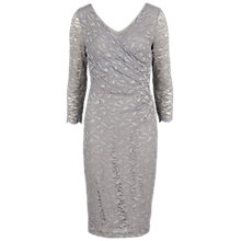 Buy Gina Bacconi Antique Corded Lace Wrap Dress Online at johnlewis.com