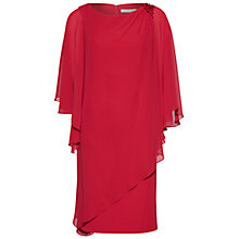 Buy Gina Bacconi Layered Chiffon and Crepe Dress Online at johnlewis.com