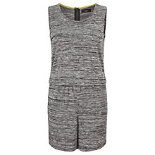 Buy Numph Suzy Playsuit, Light Grey Melange Online at johnlewis.com