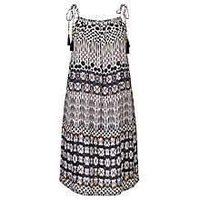 Buy Star Mela Agni Printed Sundress, Ecru/Black Online at johnlewis.com