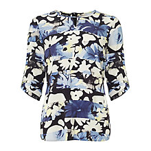 Buy Gerry Weber Floral Print Blouse, Multi Online at johnlewis.com