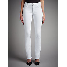 Buy James Jeans Hunter Straight Jeans, Frost White Online at johnlewis.com